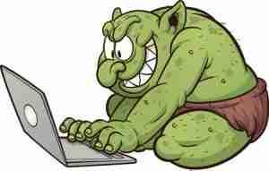 Blogging troll