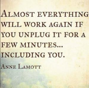 Unplug for few minutes
